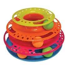 Round Triple Tower Cat Toy