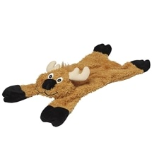 Stuffing-Free Dog Toy with Squeakers