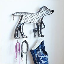 Dog Shaped Pet Accessories Holder